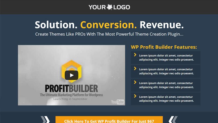 No Bullshit Internet Marketing Tools Live Previews Of Amazing WP - Sales page template wordpress
